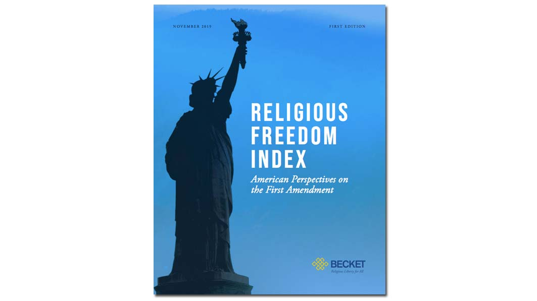 New Survey Shows Public Support for Religious Freedom has Survived the Culture Wars