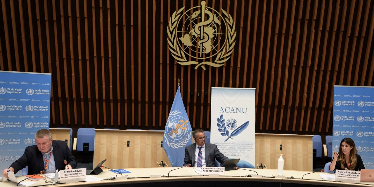 World Health Organization Changes Tune, Warns Against Lockdowns Due to Negative Economic Impact