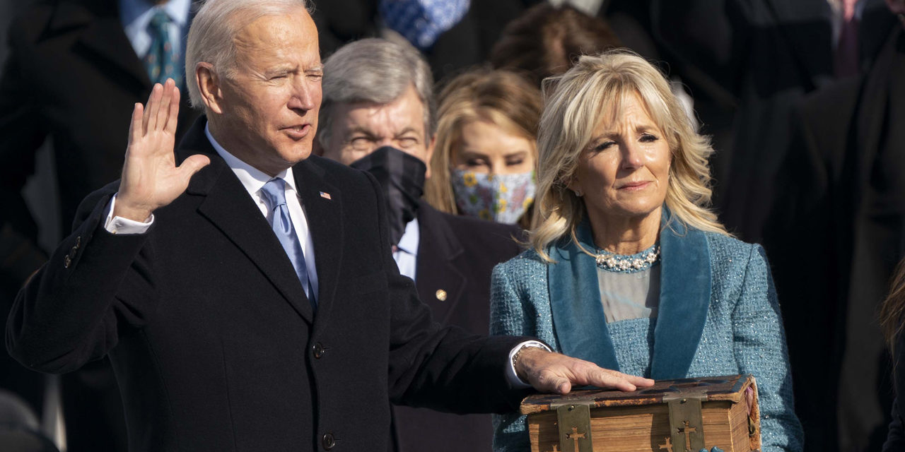 Media Gushes Over Joe Biden's Inauguration. Here are the Ten Most Over-the-Top Remarks.